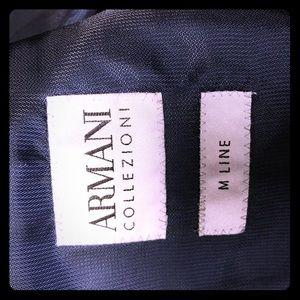 Men's Armani M Line Navy Suite 40/50